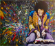 click for high res detail of the Jimmy Hendrix painting