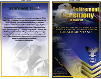 retirement ceremony program templates